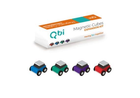 Qbi Expansion-Classic Toy Cars 4pcs