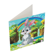 Rabbit Wonderland, 18x18cm Crystal Art Card | Bild 2