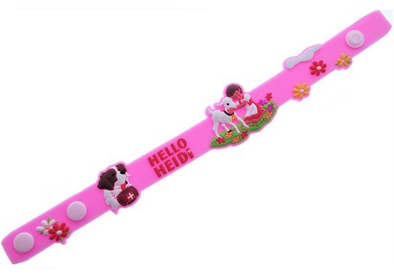 Rubber Armband - rosa