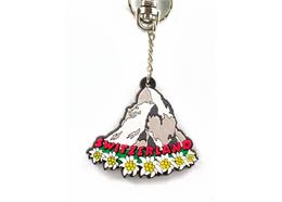 Rubber Schlüsselanhänger Matterhorn
