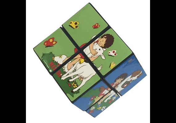 Rubik's Cube © mit Heidi Motiven 2x2, 5.7 cm Kantenlänge