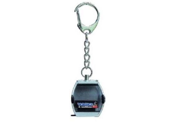 Schlüsselanhänger blau VERBIER neues Logo