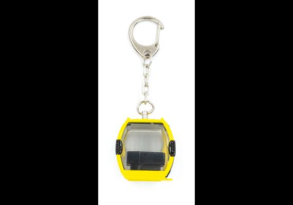 Schlüsselanhänger gelb VERBIER neues Logo