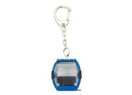 Schlüsselanhänger Laax Metall blau