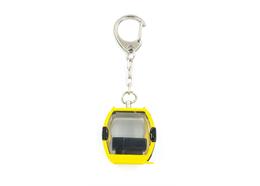 Schlüsselanhänger Laax Metall gelb
