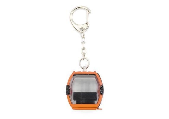 Schlüsselanhänger Omega IV Metall orange