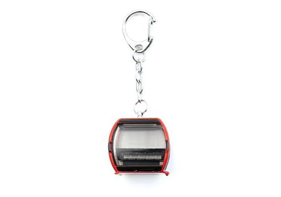 Schlüsselanhänger Omega V rot