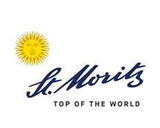 Schlüsselanhänger St. Moritz, rot, Metall