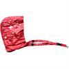 Schlüsselband mit Regenschutz Kapuze, rot