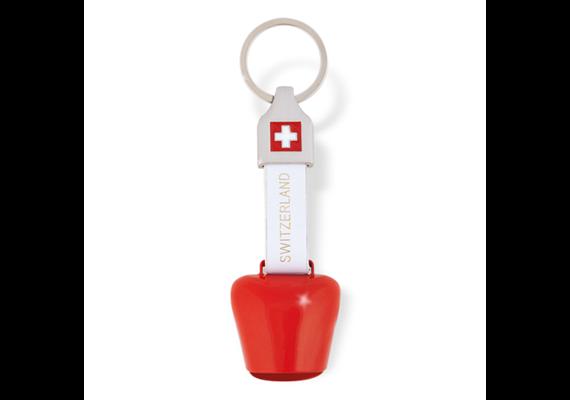 SLA Glocke Switzerland, rot, 10 x 3.5 cm