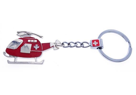 SLA Heli rot mit CH-Kreuz (beidseitig)