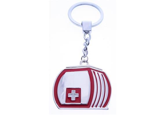 SLA Kabine rot mit CH-Kreuz (beidseitig)