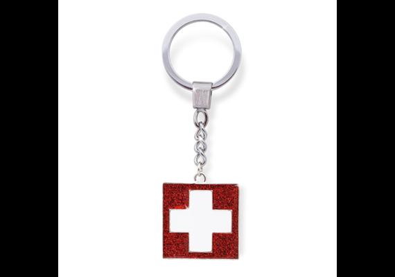 SLA Schweizer Kreuz, glitter, 3.2 x 3.2 cm