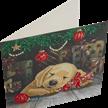 Sleepy Puppy, 18x18cm Crystal Art Card   Bild 2