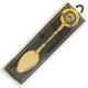 Souvenirlöffel gold und silber je 6 Stück