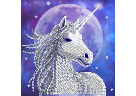 Starlight, 18x18cm Crystal Art Card ANNE STOKES