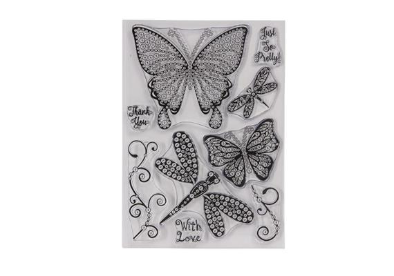 Summer Sky, Crystal Art A5 Stamp