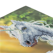 Sunshine Unicorn, 18x18cm Crystal Art Card | Bild 2