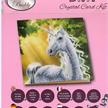 Sunshine Unicorn, 18x18cm Crystal Art Card | Bild 3