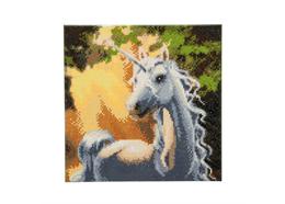 Sunshine Unicorn, 30x30cm Crystal Art Kit