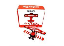 SWISSFLY Biplane 4.5 x 4 x 2 cm