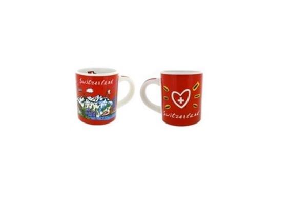 Tasse CL red Espresso Tasse, 1.2 dl, Ø 60 mm, 70 mm Höhe