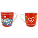 Tasse CL red Mug in PVC Geschenkbox 3.5 dl