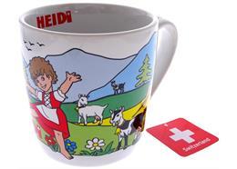 Tasse Heidi - Mug in PVC Geschenkbox 3.5 dl 85mm, 92mm Höhe