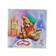 Teddy, 18x18cm Crystal Art Card