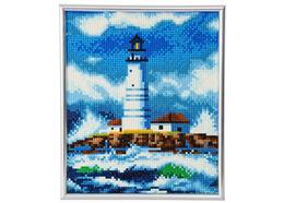 The Lighthouse, 21x25cm Picture Frame Crystal Art
