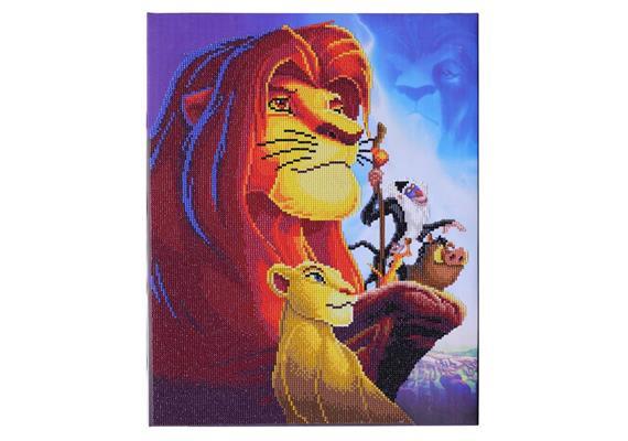 The Lion King Medley, 40x50cm Crystal Art Kit