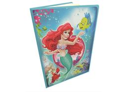 The Little Mermaid, Crystal Art Notebook