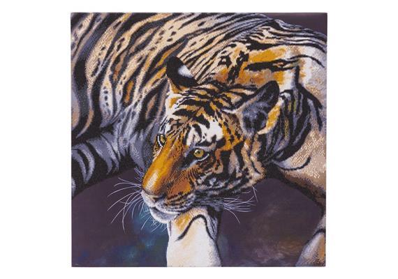 The Tiger, 70x70cm Crystal Art Kit