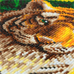 Tiger Pool, 30x30cm Crystal Art Kit | Bild 3