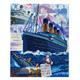 Titanic: Sunken Dreams, 40x50cm Crystal Art