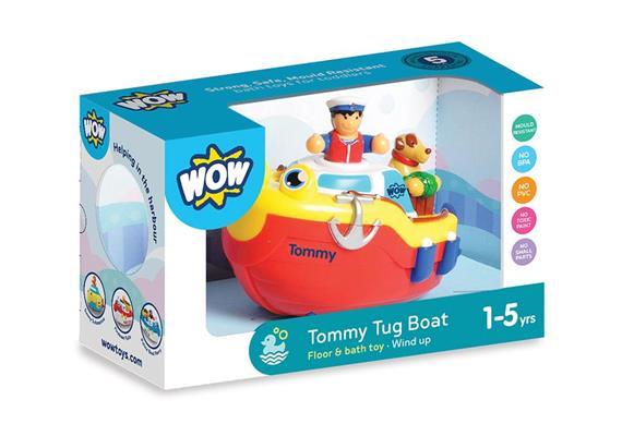 Tommy Tug Boat (bath toy)