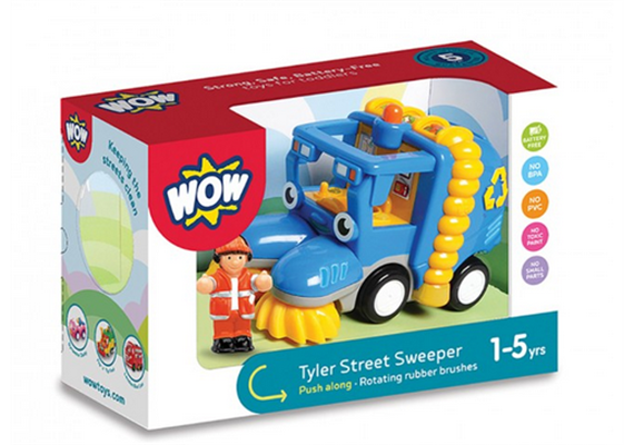 Tyler the Street Sweeper