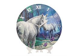 Unicorn, Crystal Art Clock