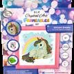 Unicorn Rainbow, 16x16cm Frameable Crystal Art   Bild 5
