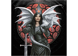 Valour: Anne Stokes, 70x70cm Crystal Art Kit