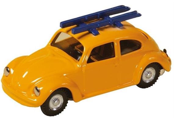 VW Beetle with Ski