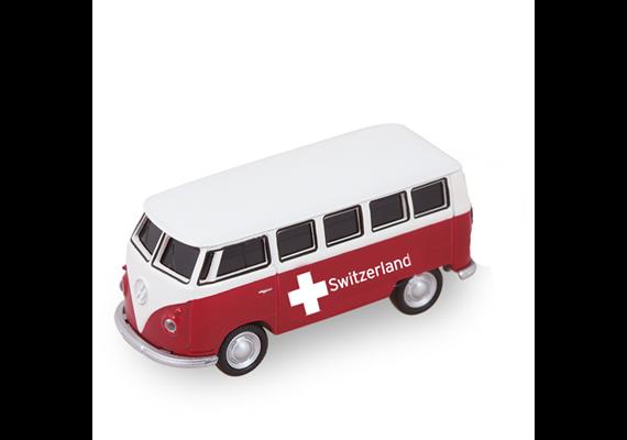 VW Bus rot gross 1962, Switzerland, 12.5 cm