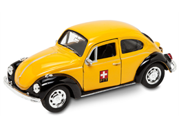VW Käfer Die Post 11.5cm mit Rückzugfunktion Türen zum öffnen