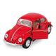 VW Käfer rot gross 1967, neutral, 12.5 cm
