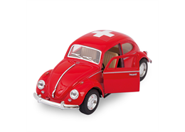 VW Käfer rot gross 1967, Switzerland, 12.5 cm
