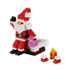 Weihnachtsmann am Schornstein