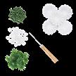 White, Cute Camelias Forever Flowerz - Makes 30 | Bild 3