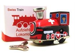 WIIND UP ENGINE SWISS, 6.5 x 3x5cm