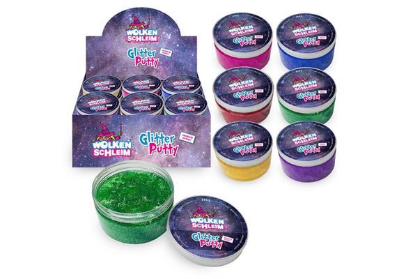 Wolkenschleim Glitter Putty 250 g/Dose