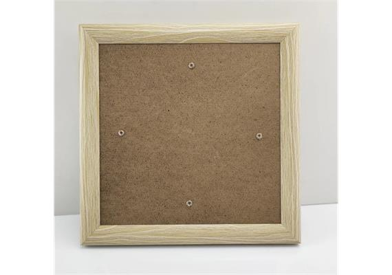 Wood Effect, 21x21cm Picture Frame for Crystal Art